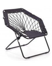 Fotelik dla dziecka składany Basket - czarny