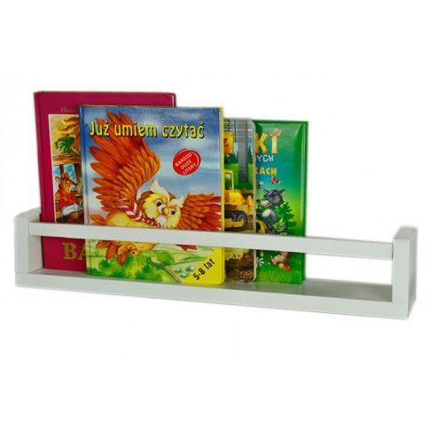 Zdjęcie produktu Półka na książki Liptos 54 cm - 12 kolorów.