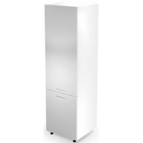 Zdjęcie produktu Kuchenna szafka do zabudowy lodówki Limo 14X - biały połysk.