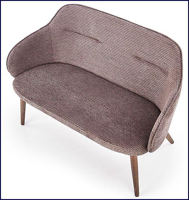 Podwójna sofa wypoczynkowa ciemny popiel Livar 3X