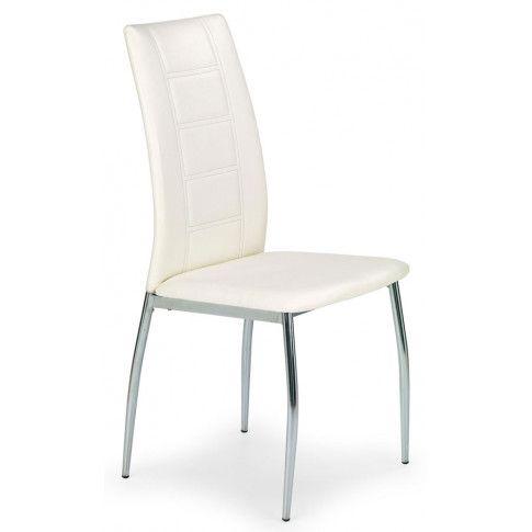 Zdjęcie produktu Krzesło metalowe Colin - Białe.