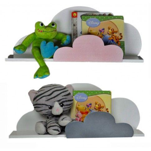 Zdjęcie produktu Dziecięca półka ścienna chmurka Delkis - 10 kolorów.