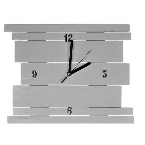 Zdjęcie produktu Drewniany zegar ścienny Liptos - 11 kolorów.