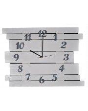 Duży zegar drewniany Liptos 6R - 11 kolorów