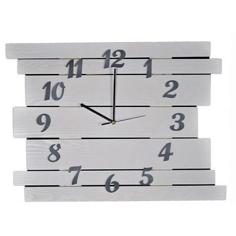 Zdjęcie produktu Duży zegar drewniany Liptos 6R - 11 kolorów.