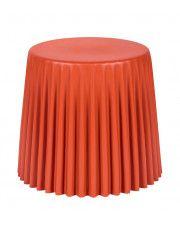 Stołek Muffi - pomarańczowy