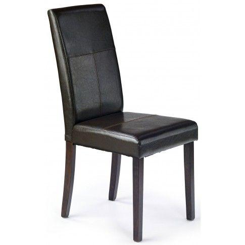 Zdjęcie produktu Krzesło tapicerowane Corel - brązowe.