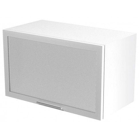 Zdjęcie produktu Kuchenna szafka górna okapowa z witryną Limo 30X - biała .
