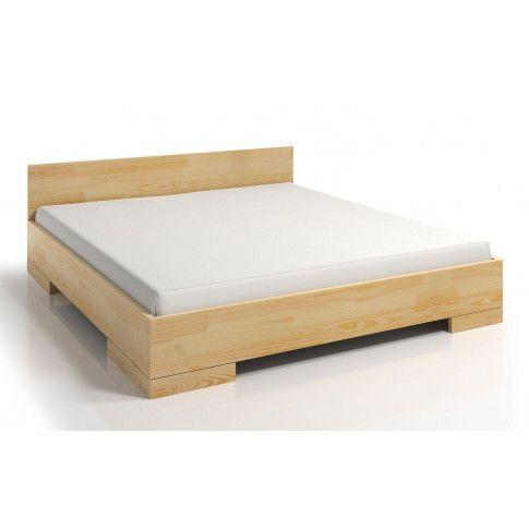 Zdjęcie produktu Drewniane łóżko skandynawskie Laurell 4S - 6 ROZMIARÓW.