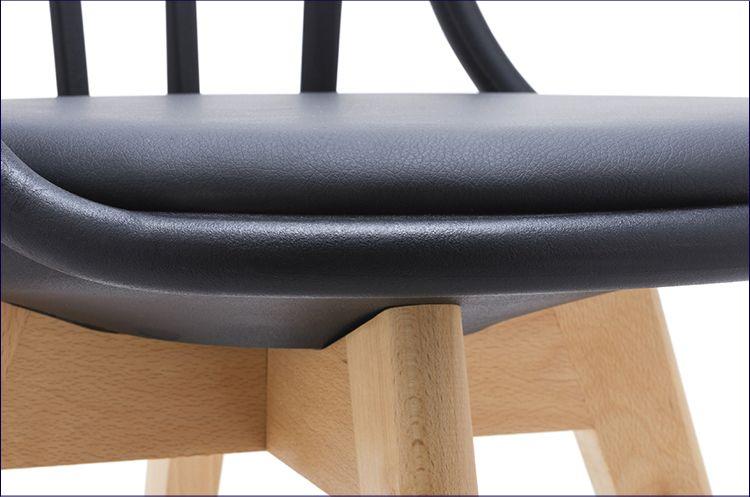 Krzesło patyczak czarne Melba