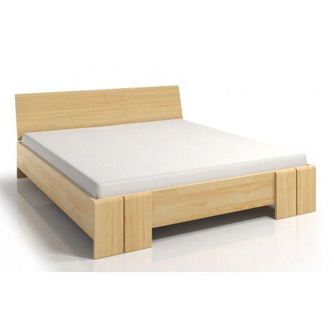 Zdjęcie produktu Drewniane łóżko z pojemnikiem Verlos 5X - 5 rozmiarów.