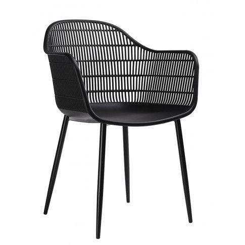 Zdjęcie produktu Krzesło patyczak z oparciem Cesta - czarne.