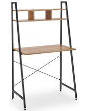 Loftowe biurko Lusso 3X - dąb sonoma