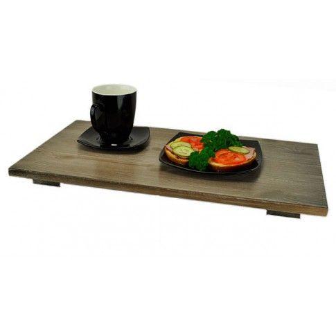 Zdjęcie produktu Stolik śniadaniowy do łóżka Deries - 11 kolorów.