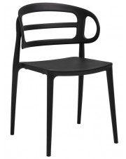 Nowoczesne krzesło do jadalni Tanner - czarne