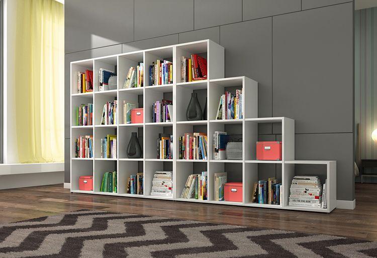 Regał biblioteczka Maleo 3X i 4X