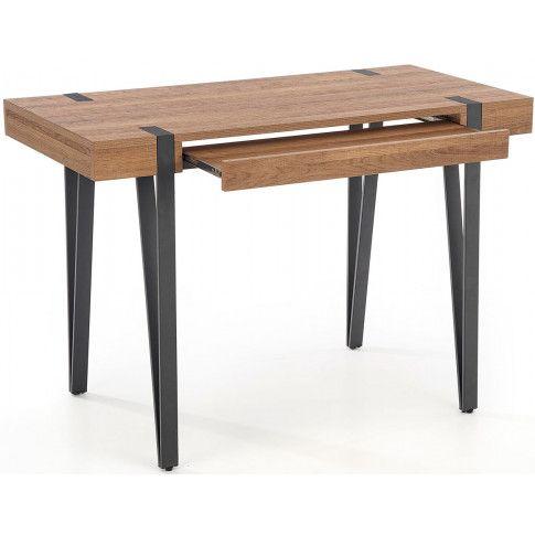 Zdjęcie produktu Loftowe biurko Gaga - orzech miodowy.