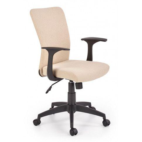 Zdjęcie produktu Młodzieżowy fotel do biurka Syriusz - beżowy.