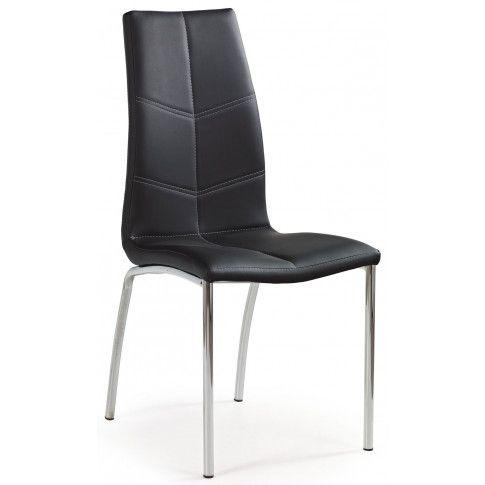 Zdjęcie produktu Krzesło metalowe David - czarne.