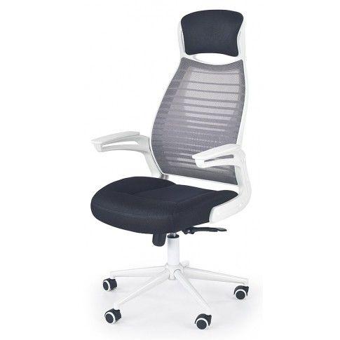 Zdjęcie produktu Fotel obrotowy biurowy Logan - popiel.