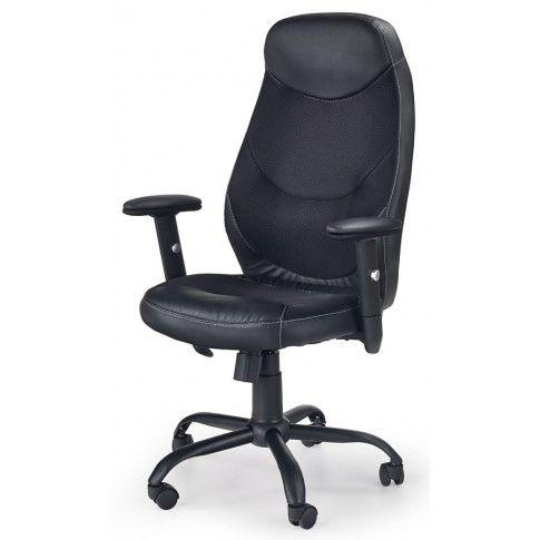 Zdjęcie produktu Fotel obrotowy Luter - czarny.