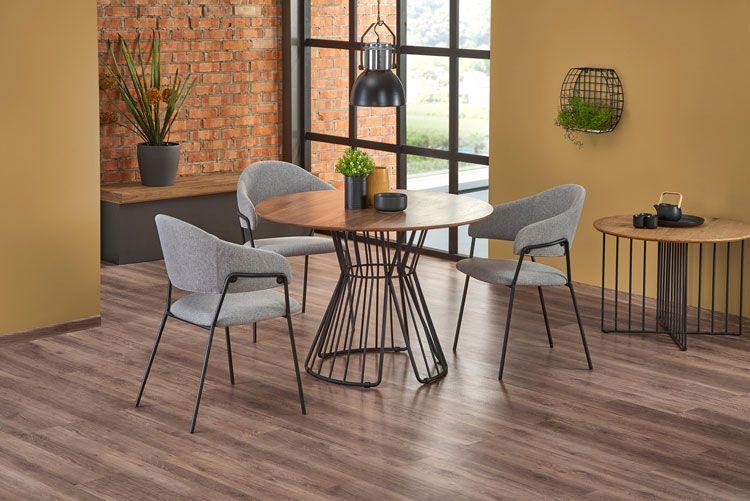 Nowoczesne krzesło Miloni - wizualizacja wnętrza.