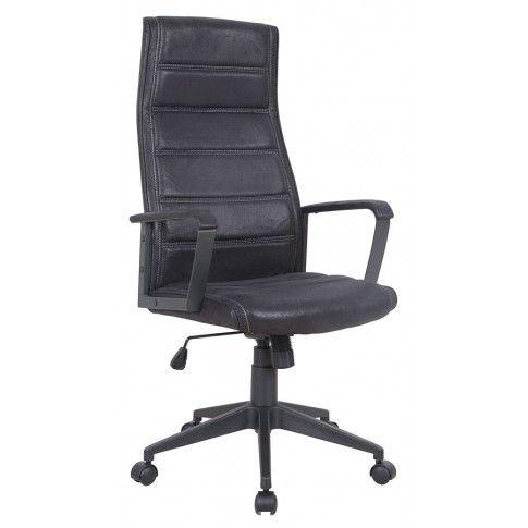 Zdjęcie produktu Fotel obrotowy Tentos - czarny.