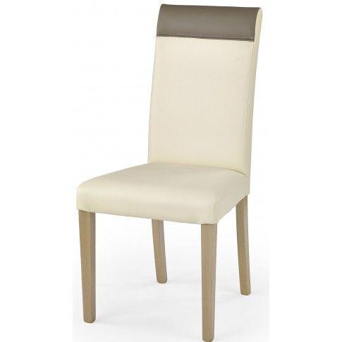 Zdjęcie produktu Krzesło drewniane Devon - kremowe.