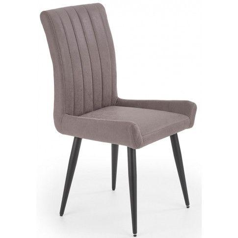 Zdjęcie produktu Tapicerowane krzesło Maroco - ciemny popiel.