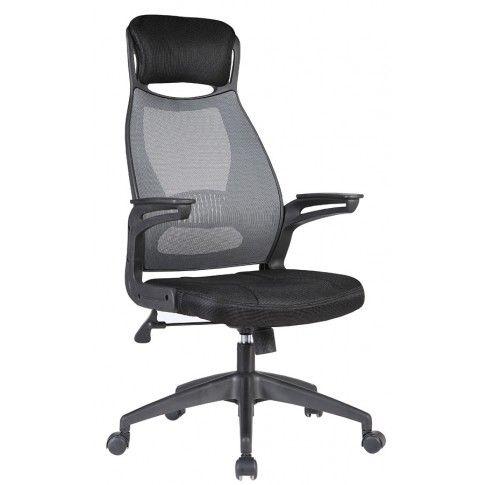 Zdjęcie produktu Fotel obrotowy Ambros - popiel + czarny.