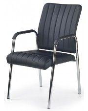 Fotel konferencyjny Verdal - czarny