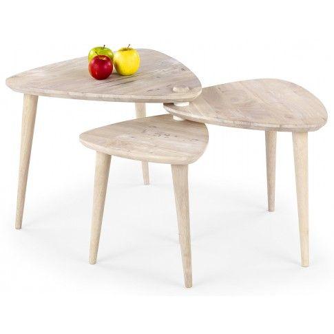 Zdjęcie produktu Ława rozkładana Morea - naturalne drewno.