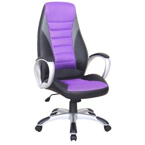 Zdjęcie produktu Fotel obrotowy Hector - fiolet.