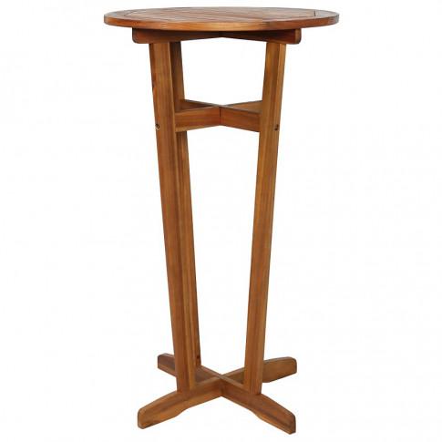 drewniany barowy stolik ogrodowy clarke