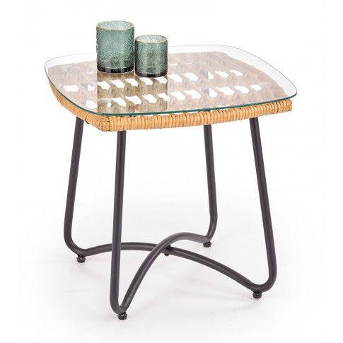 Zdjęcie produktu Kwadratowy stolik ogrodowy Albena.