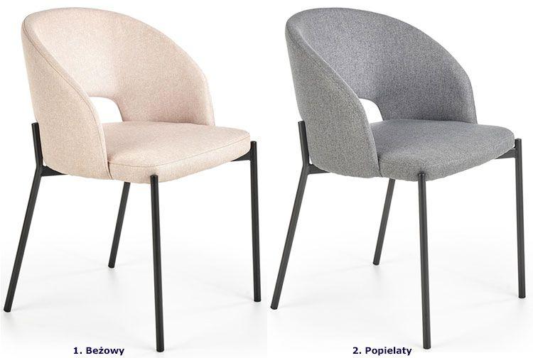 Krzesło Elba - dwa kolory.