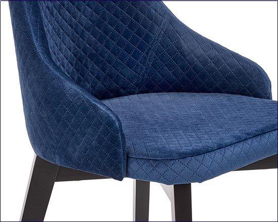 Tapicerowane krzesło Altex 3X granat