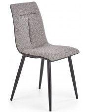 Popielate krzesło do jadalni Elba sklep Edinos.pl