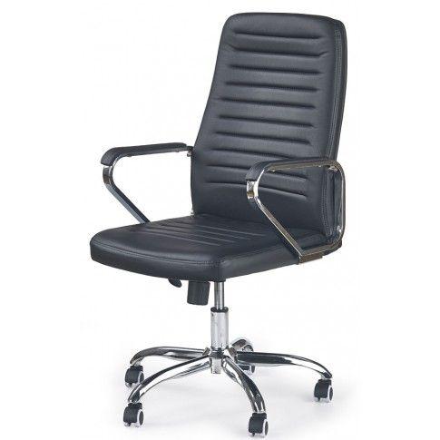 Zdjęcie produktu Fotel obrotowy Tomix - czarny.