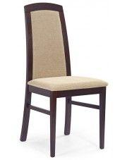 Krzesło drewniane Dorian - ciemny orzech