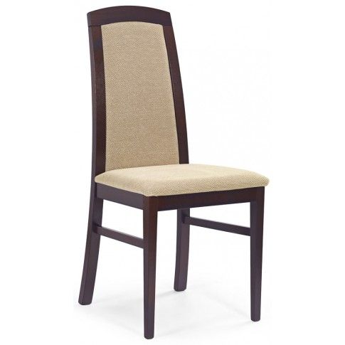 Zdjęcie produktu Krzesło drewniane Dorian - ciemny orzech.
