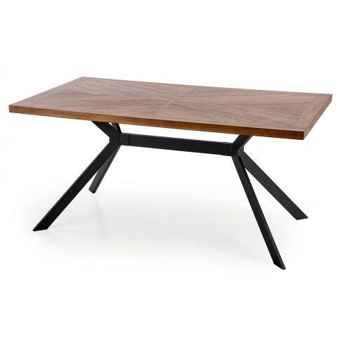 Zdjęcie produktu Industrialny stół do salonu Neli - orzechowy.
