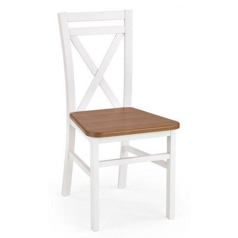 Zdjęcie produktu Krzesło skandynawskie Dario - Białe-olcha.