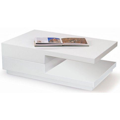 Zdjęcie produktu Rozkładana ława Axela - biała.