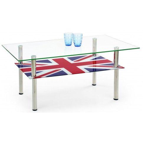 Zdjęcie produktu Ława szklana Celia - flaga UK.
