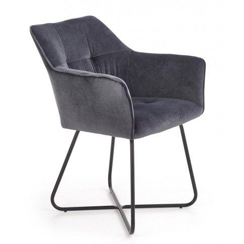 Zdjęcie produktu Modernistyczne krzesło Roxi - popiel.