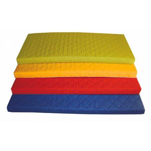 Zdjęcie produktu Materac piankowy Medios 190x90cm - żółty.