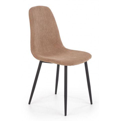 Zdjęcie produktu Stylowe krzesło Semi - beżowe.