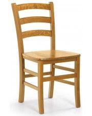 Krzesło drewniane Foren - 2 kolory