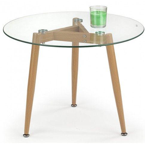 Zdjęcie produktu Ława szklana Atika - okrągła.